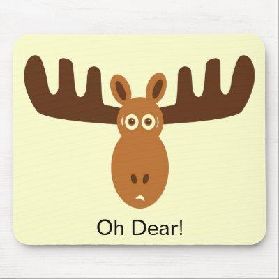 Moose face cartoon - photo#43