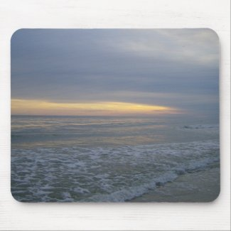 More sunsets and oceanviews from Oak Island mousepad