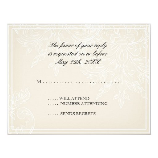 How To Respond To A Bridal Luncheon Invite