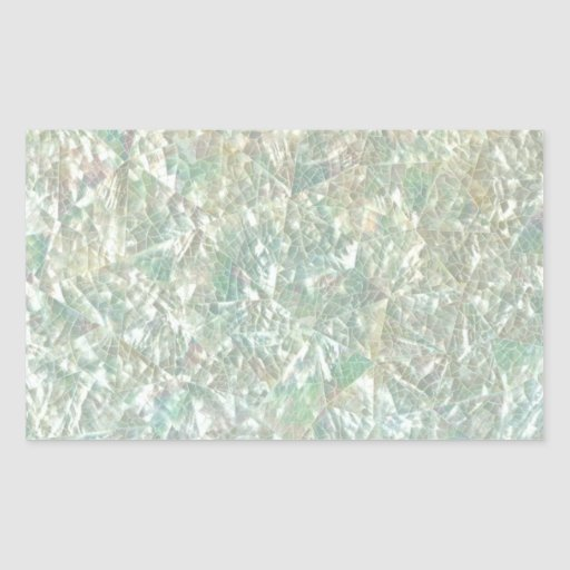 Mother Of Pearl Opal Crackle Mirror Iridescent Rectangular