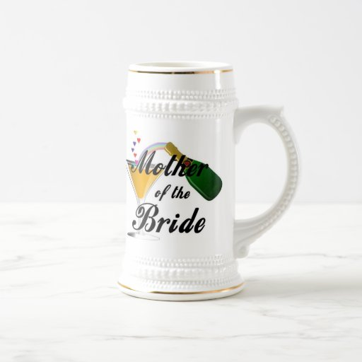 Mother Of The Bride Champagne Toast Coffee Mug
