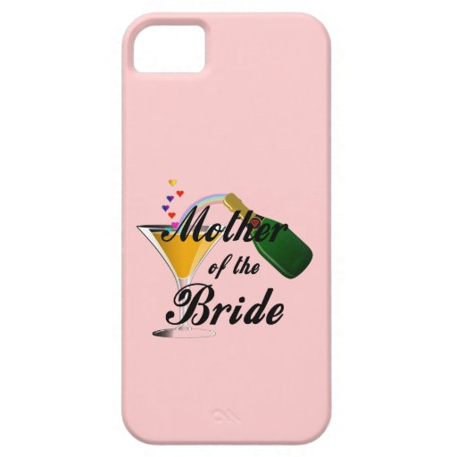 Mother Of The Bride Champagne Toast IPhone 5 Cases