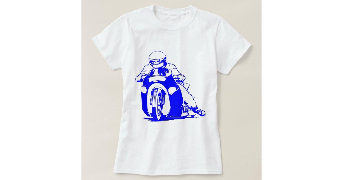 Motorcycle Drag Racing T Shirt Zazzle