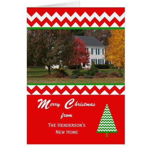 Moving Photo Change Of Address Christmas Card