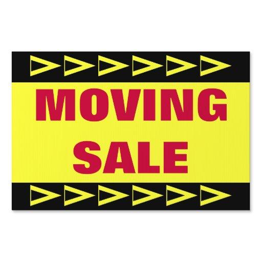 Moving Sale Lawn Sign Zazzle