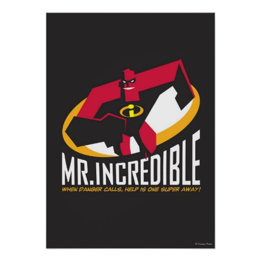 Mr. Incredible Posters | Zazzle