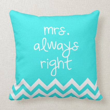 Mr Right Pillows Amp Mrs Always Right Pillows Eatlovepray