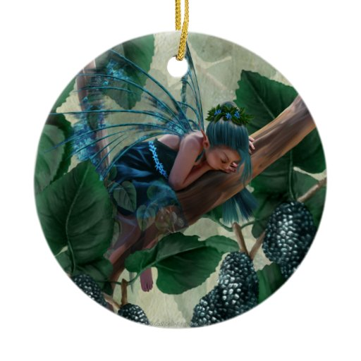 Mulberry Fairy Christmas Tree Ornament