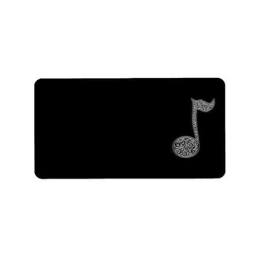 Music Note Labels