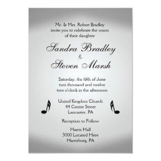 Music Theme Wedding Invitations Home