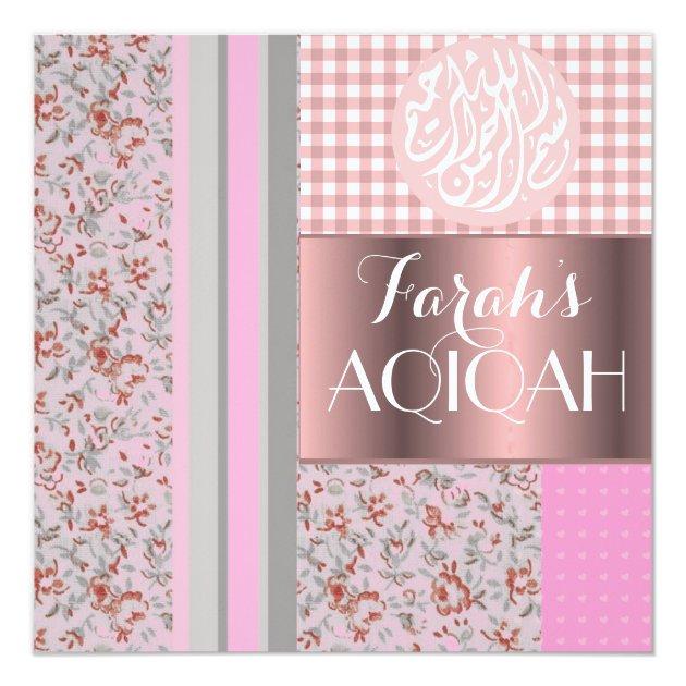 Personalized Aqiqah Invitations Custominvitations4u Com