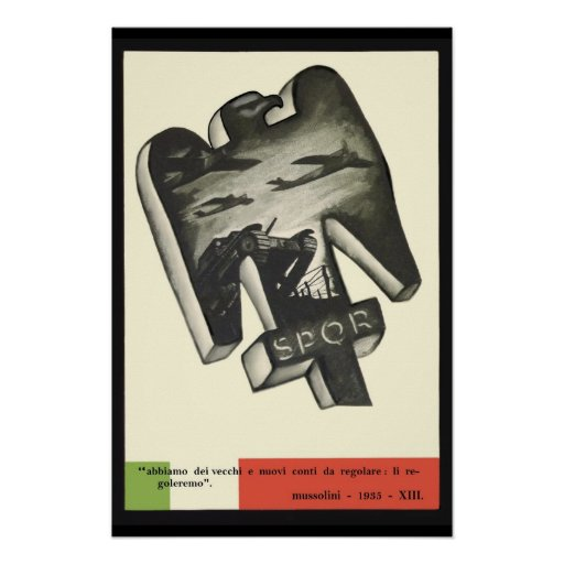 A History of Graphic Design: Chapter 30 -- Posters and ... |Mussolini Propaganda Slogans