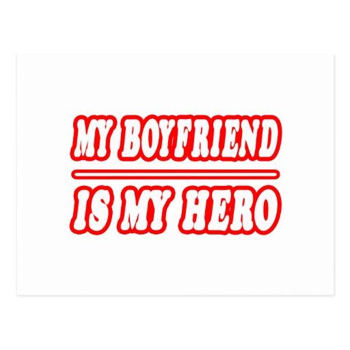 My boyfriends as my hero