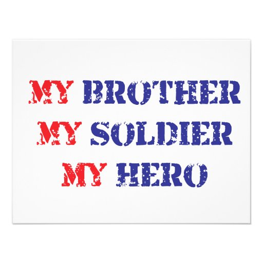 A description of my brother as my hero