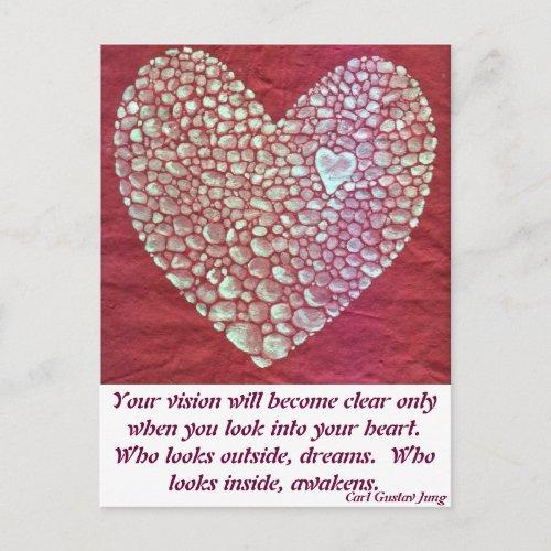 My Heart Awakens postcard