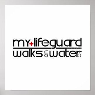 Jesus Walks On Water Posters | Zazzle