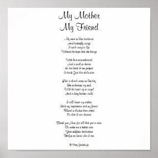 My Mom My Friend Poem 86
