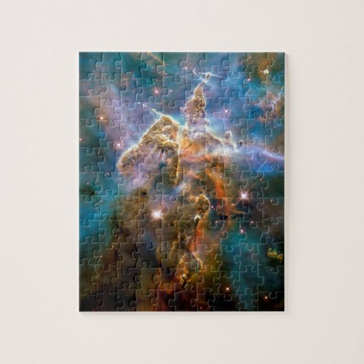 Mystic Mountain Carina Nebula Jigsaw Puzzles | Zazzle