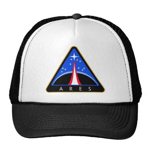 NASA Ares Rocket Logo Trucker Hat | Zazzle