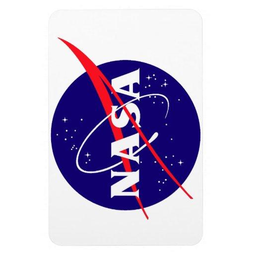 NASA Meatball Logo Vinyl Magnet   Zazzle