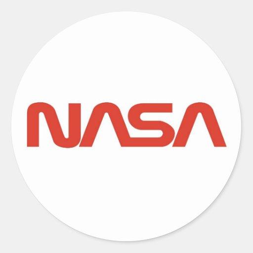 nasa stickers logo 1 - photo #9