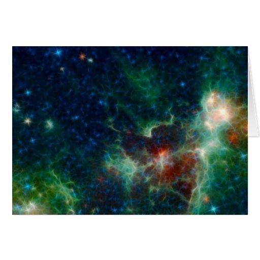 NASAs Heart And Soul Nebula NASA Card | Zazzle