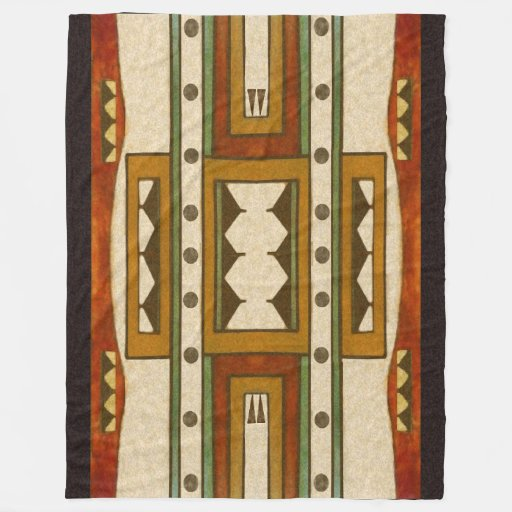 Native American Pattern Cheyenne Design 1860 S Fleece