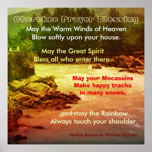 Native American Wisdom Quotes Poster | Zazzle
