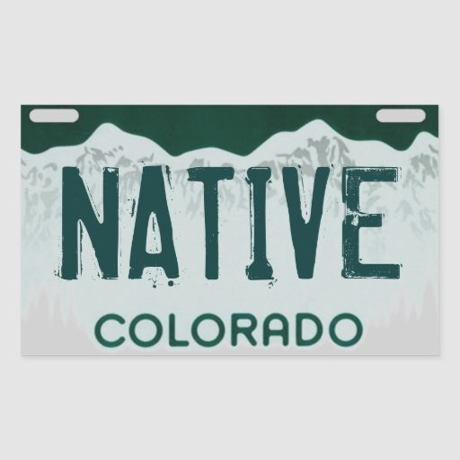 Download Colorado License Plates Sticker Placement Free