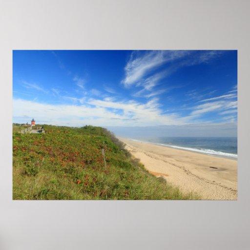 Cape Cod National Sea Shore: Nauset Lighthouse Beach Cape Cod National Seashore Poster