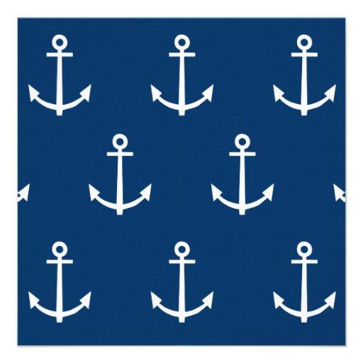 Navy Anchor Pattern