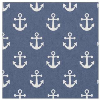 Anchor Pattern Fabric   Zazzle