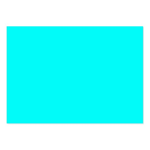 Neon Blue Teal Light Bright Fashion Color Trend Large ...