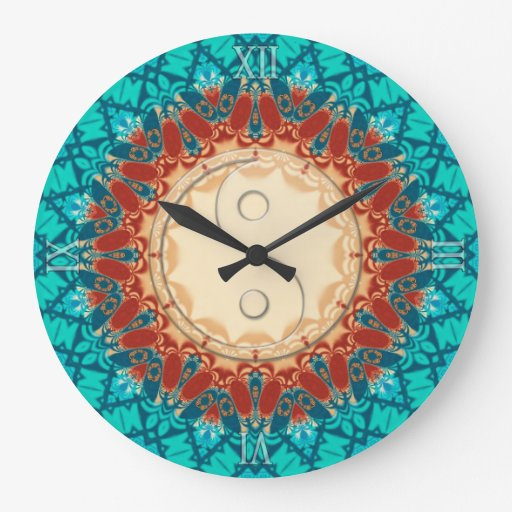 New Age Home Decor: New Age Feng Shui Home Decor Wall Clock