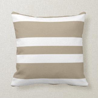 Tan And White Stripes Pillows Decorative Amp Throw Pillows