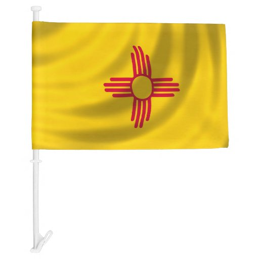 New Mexico State Flag For Image Car Flag Zazzle