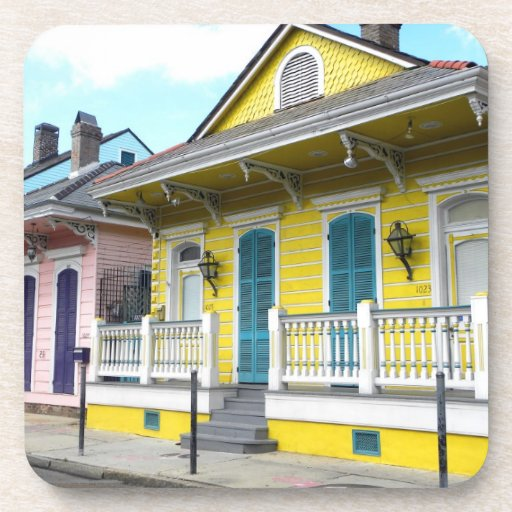 New Orleans Design: New Orleans Designs Drink Coasters