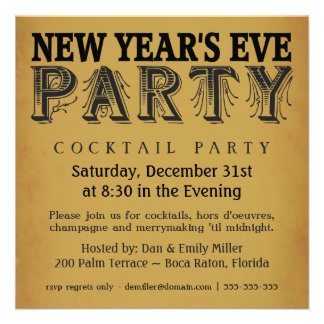 10,000+ New Years Party Invitations, New Years Party ...