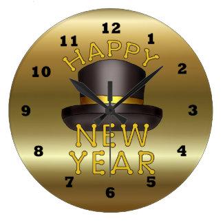 New Years Eve Wall Clocks | Zazzle