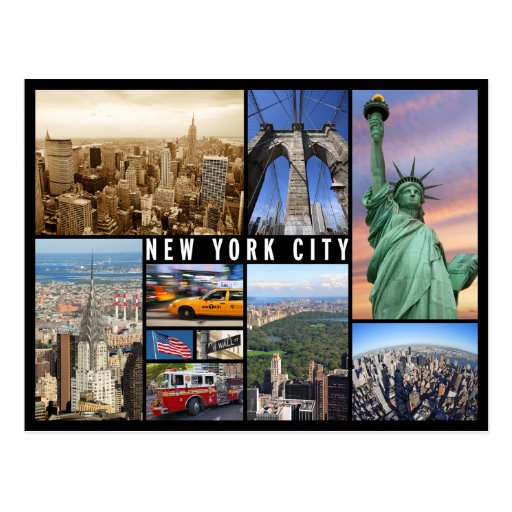 From New York City: New York City Postcard