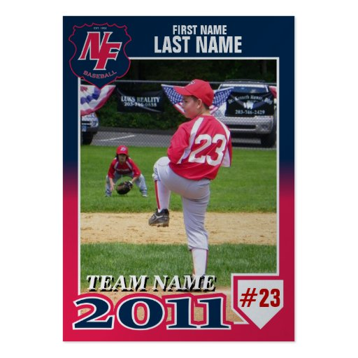 Pin baseball templates on pinterest for Baseball card size template