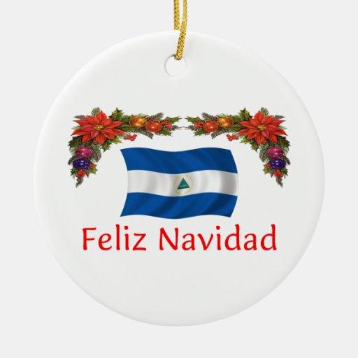 Nicaragua Christmas Christmas Ornaments