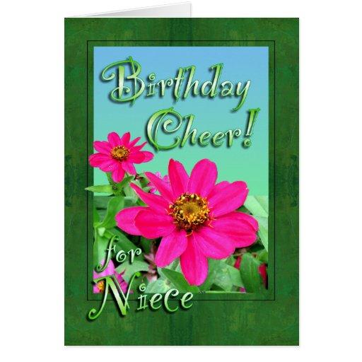 Happy Birthday Niece Cards, Happy Birthday Niece Card