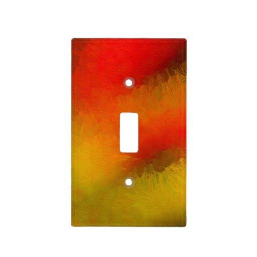 Night Sky Fireball Light Switch Cover Zazzle