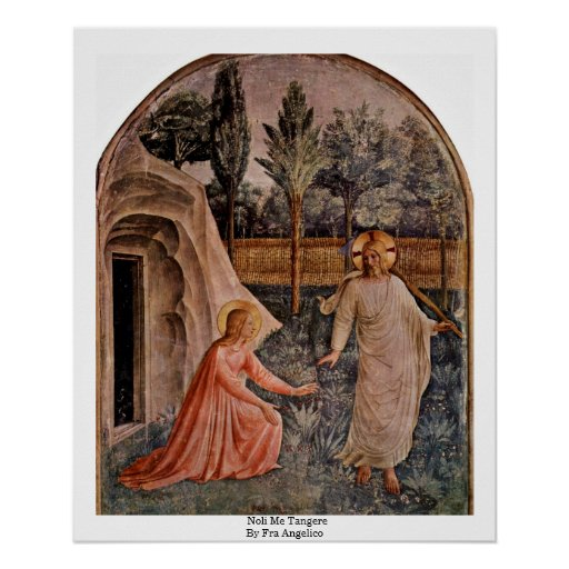 Noli me tangere reflection