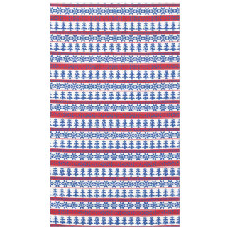 Nordic Christmas Trees Tablecloth