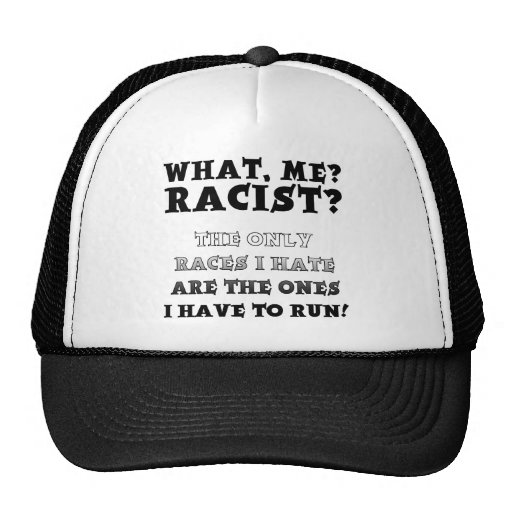 e6e7dbe4fd8 ... Trucker Hat Funny Quotes Hats  Not A Racist Funny Ball Cap Hat Sayings  Quotes