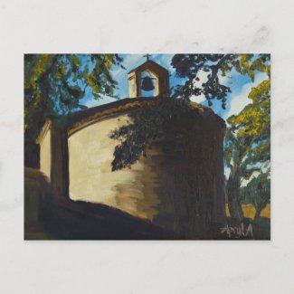 Notre Dame de Revest, Esparron, Provence postcard