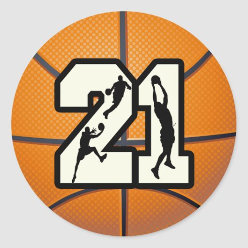 Number 21 Basketball S...