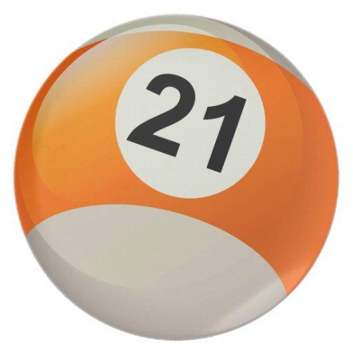Number 21 Billiards Ba...